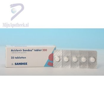 ACICLOVIR SANDOZ TABLET 200MG