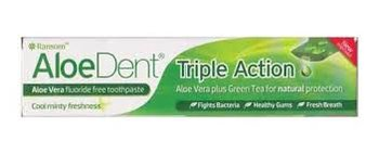 Aloe Dent-triple action: fluoride-vrij tandpasta