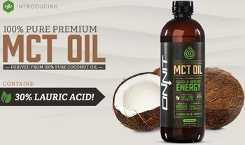 MCT olie met laurinezuur - Onnit - 709 ml
