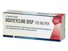 DOXY PCH TABLET 100MG 14 tabletten - soa