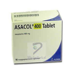 ASACOL TABLET MSR 400MG