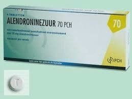 ALENDRONINEZUUR PCH TABLET 70MG