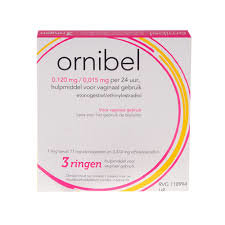 ORNIBEL RING VAGINAAL 3,00 ST XIROMED