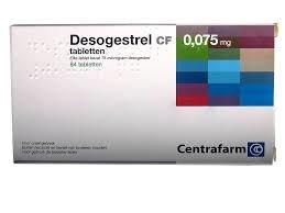 DESOGESTREL CF TABLET FILMOMHULD 0,075MG